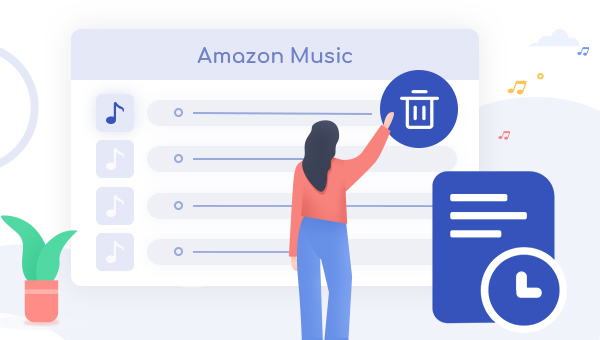 Clear Song History and Cache of Amazon Music